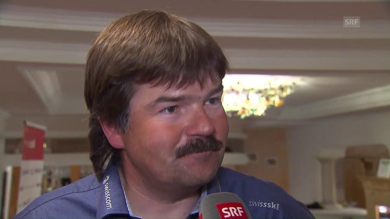 Cheftrainer Stauffer über die weiteren Jungen im Riesenslalom-Team
