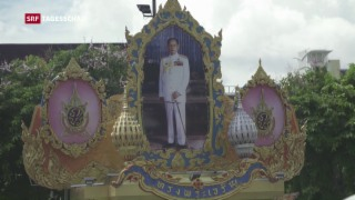 Video «Thailands Trauer in Ungewissheit» abspielen
