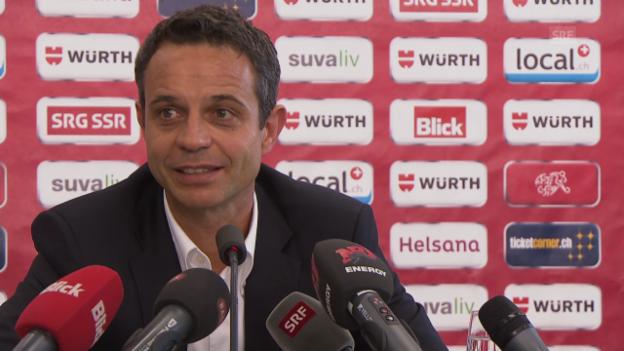 Video «Fussball: Bernhard Heusler über das UEFA-Urteil» abspielen