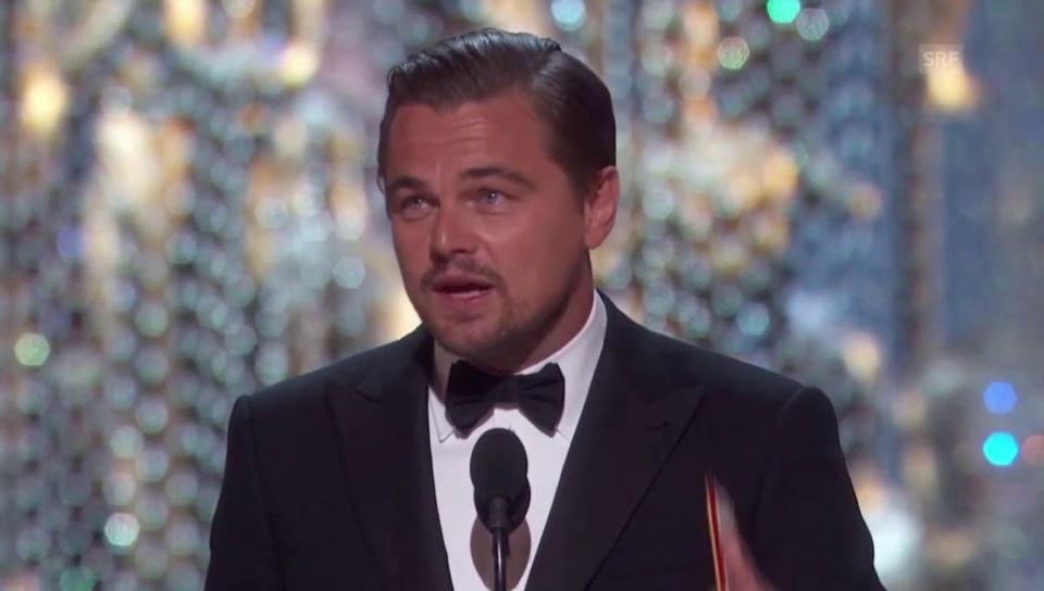 Leonardo DiCaprios Oscar-Dankesrede