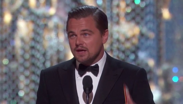 Video «Leonardo DiCaprios Oscar-Dankesrede» abspielen