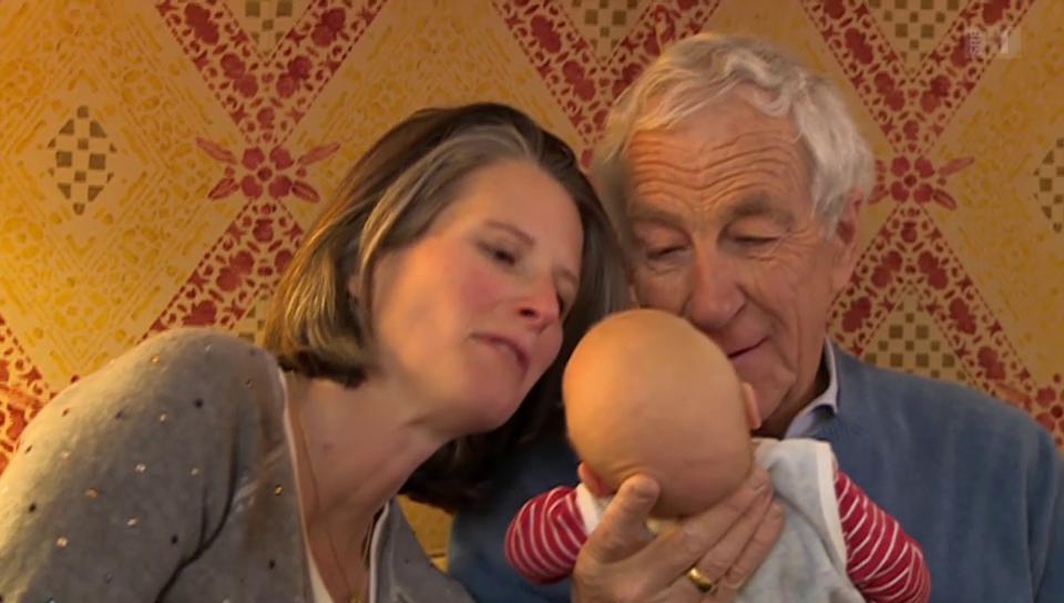Hanspeter Danuser – mit 67 Jahren nochmals Vater.