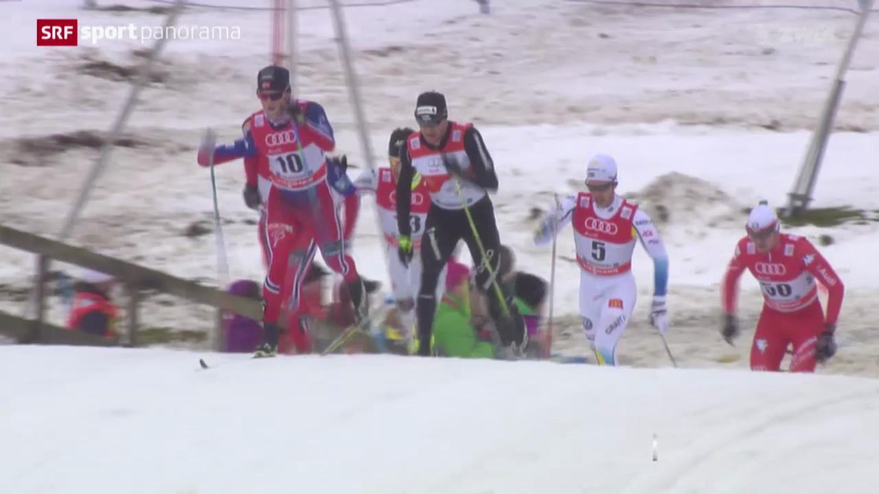 Langlauf: Tour de Ski, 2. Etappe Männer in Oberstdorf