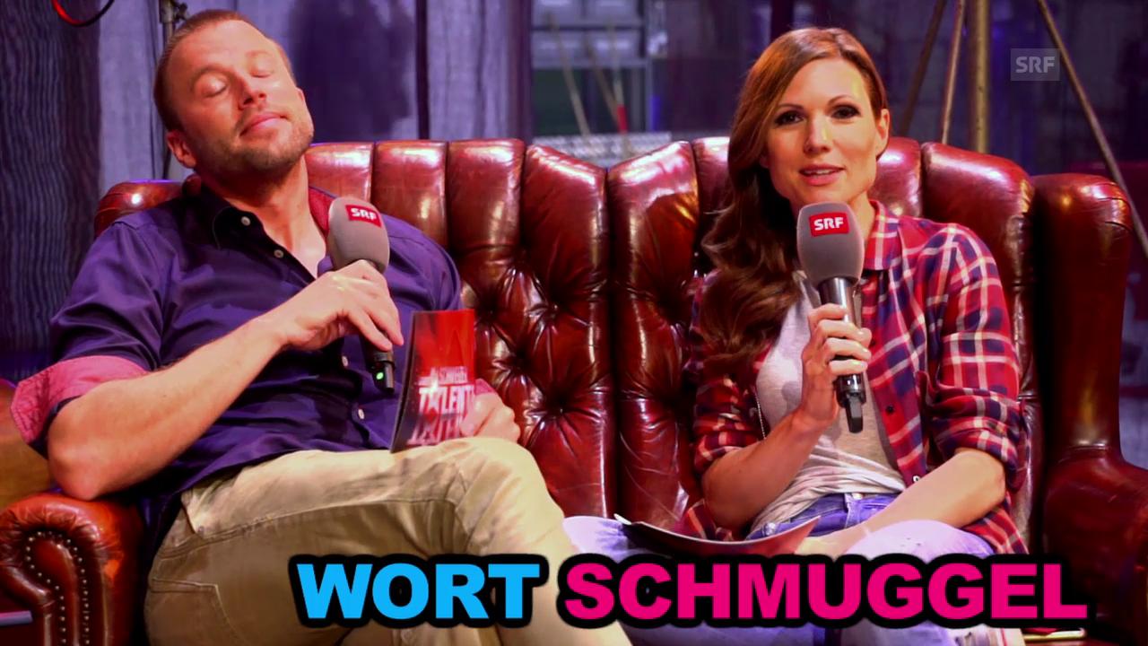 Wortschmuggel-Duell mit Jonny & Viola