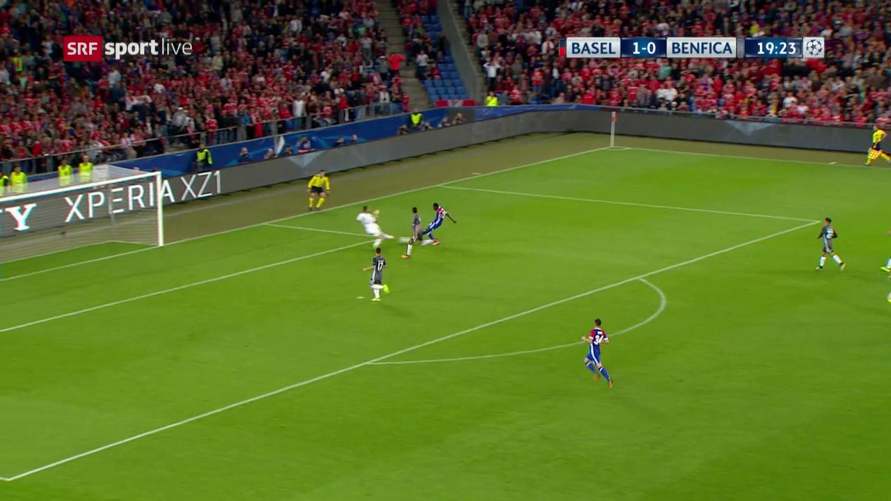 Oberlin trifft für Basel zum 2:0