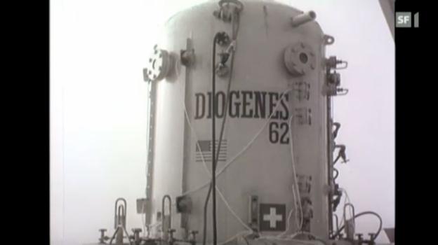 Video «Tauch-Pionier Hannes Keller und sein Höllenritt in die Tiefe» abspielen