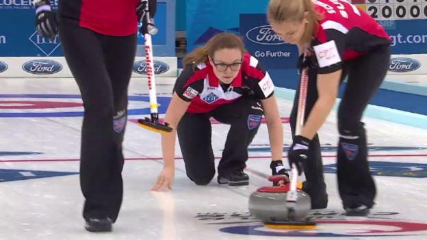 Video «Schweizerinnen düpieren den Gastgeber» abspielen