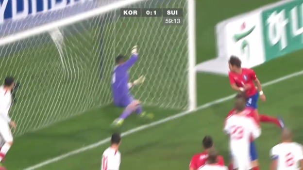 Video «Fussball: Höhepunkte Südkorea - Schweiz: Höhepunkte («sportlive»)» abspielen