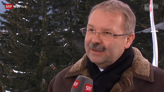 Alois Zwinggi, Direktor WEF (Tag 3)
