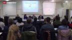 Video «Flüchtlingsstrom in die Schweiz nicht abschätzbar» abspielen