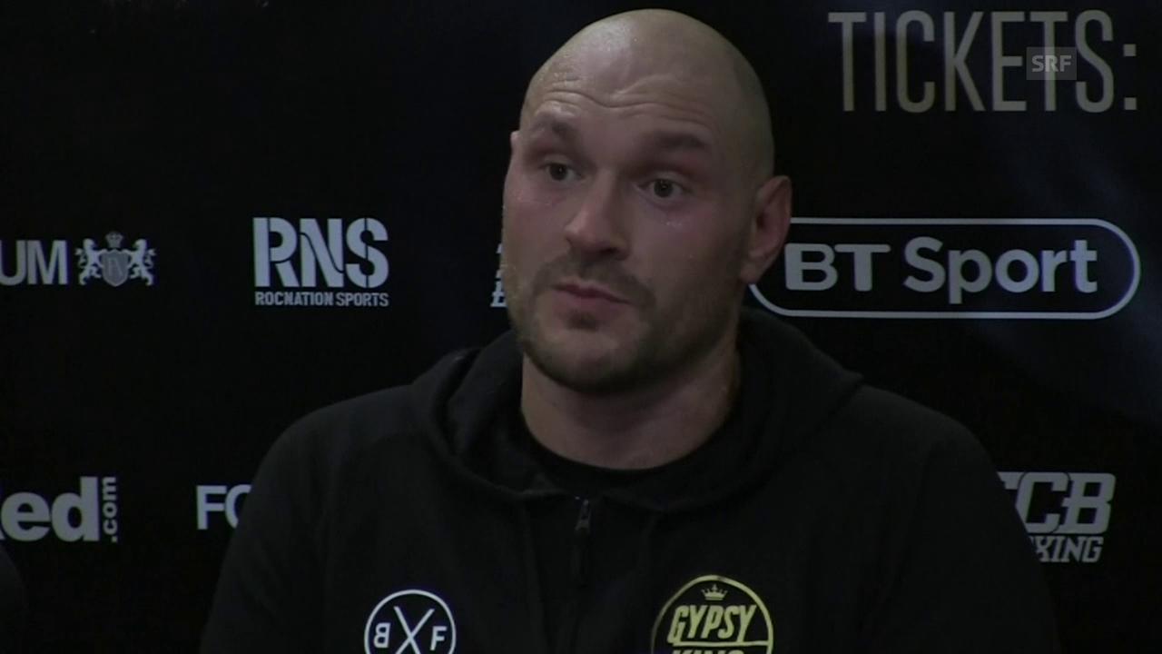 Fury: «Ich hätte ihn in 10 Sekunden ausknocken können» (engl.)