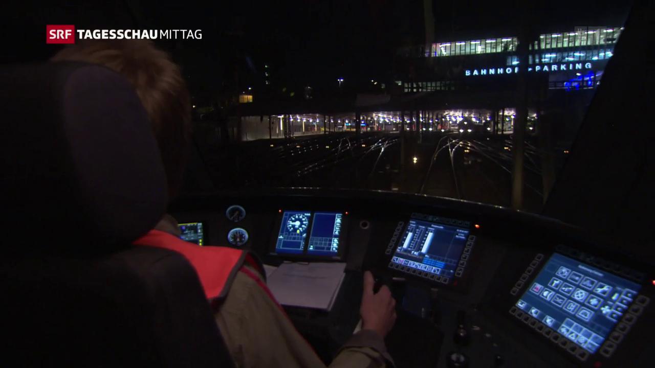 SBB testen selbstfahrende Züge
