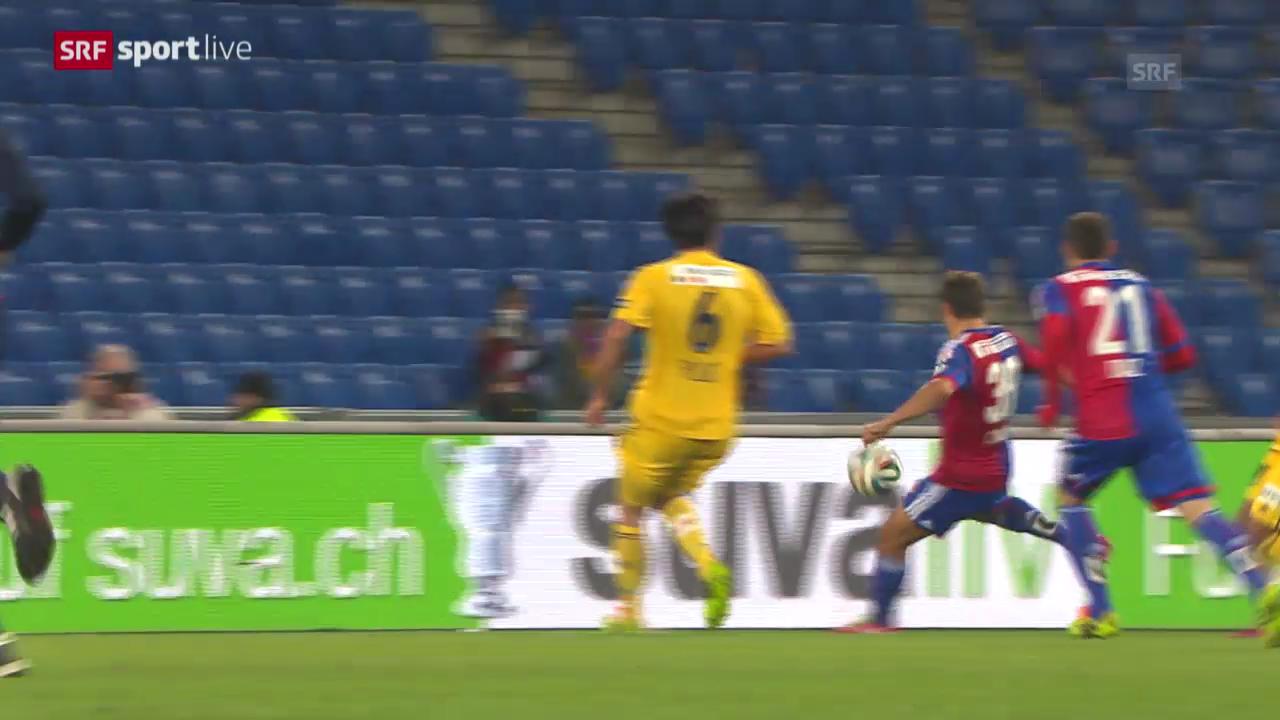 Fussball: Cup-Halbfinal, Zusammenfassung Basel - Luzern