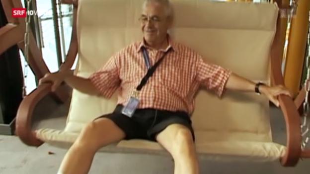 Video «Abschied von «Monsieur Montreux»» abspielen