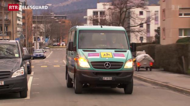 Laschar ir video «Cuira ha da pajar per il bus da la scolina rumantscha – ina decisiun e sias consequenzas»