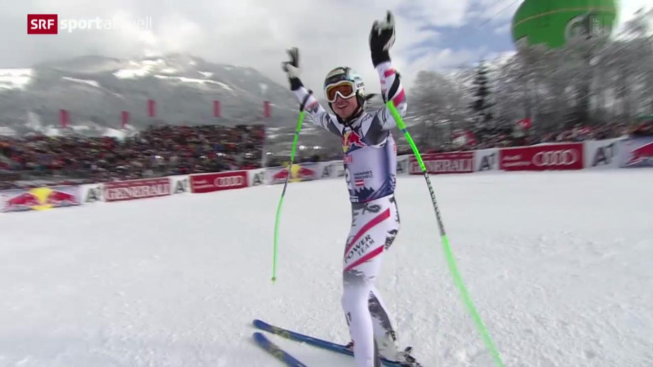 Ski: Abfahrt Männer in Kitzbühel