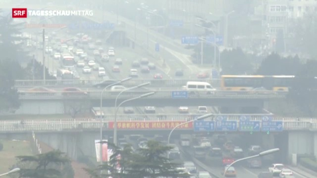 Smog-Alarm in China