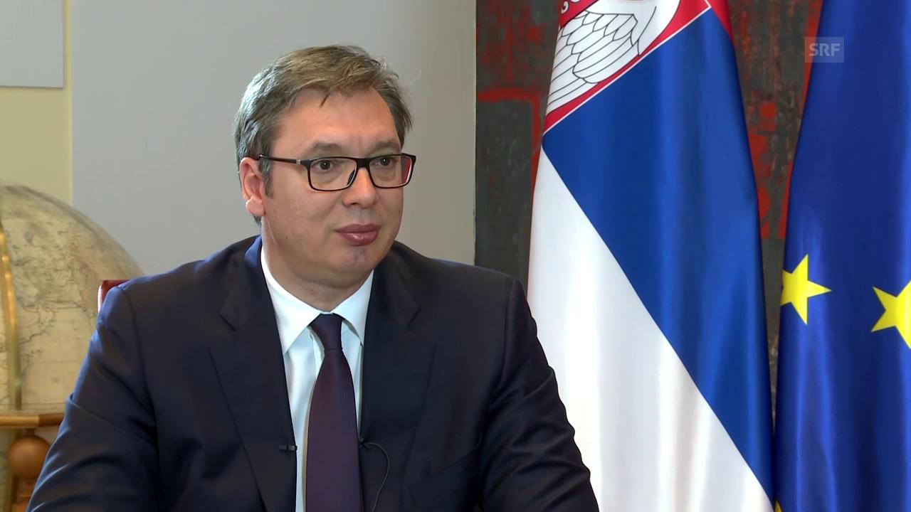 Aleksandar Vučić: «Ich habe eine Million Fehler gemacht»