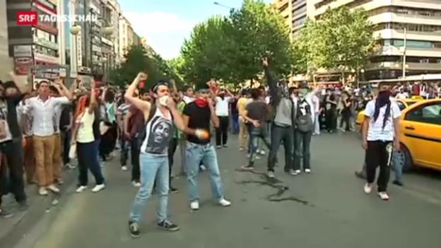 Video «Tag 5 der Proteste in der Türkei – mit einer Wende» abspielen