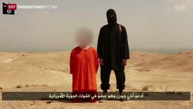 Video «US-Journalist hingerichtet» abspielen