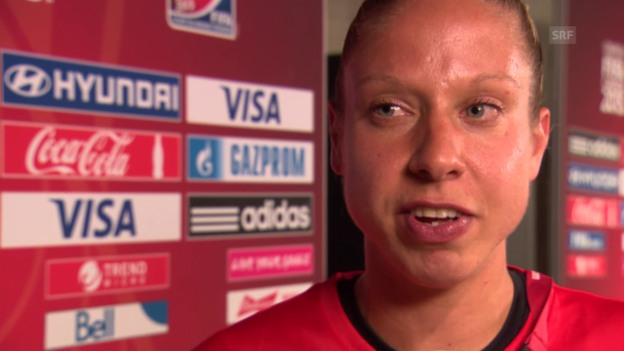 Video «Nati-Captain Caroline Abbé im Interview» abspielen