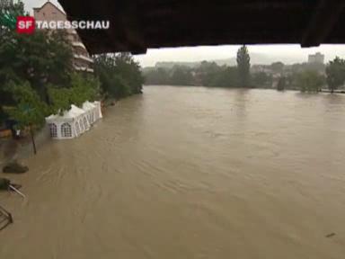 Kanton Aargau stark getroffen