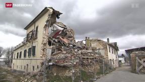 Video «Fünf Jahre nach dem Erdbeben von L'Aquila » abspielen