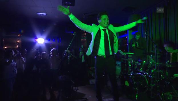 Video «Piero Esteriore tauft seine CD» abspielen