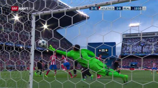 Video «Der Doppelschlag von Atletico in der Startviertelstunde» abspielen