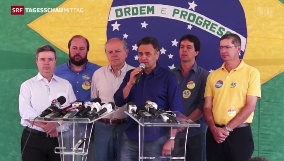 Überraschung in Brasilien