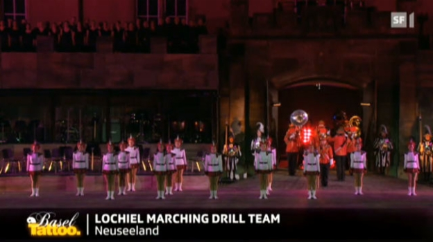 Video «Lochiel Marching Team» abspielen