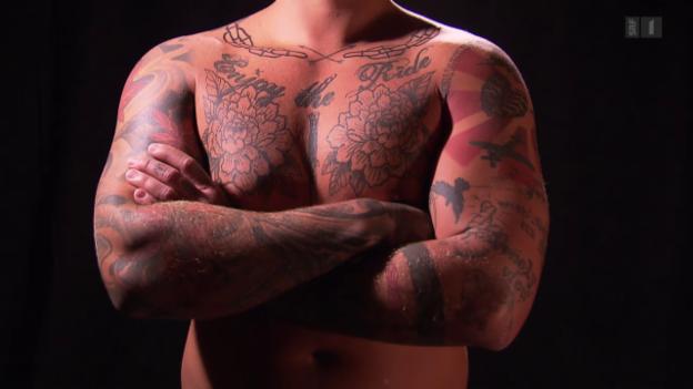 Video «Tätowierungen - Farbe, die unter die Haut geht» abspielen