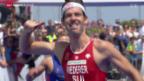 Video «Triathlon: EM in Genf, Wettkampf Männer» abspielen
