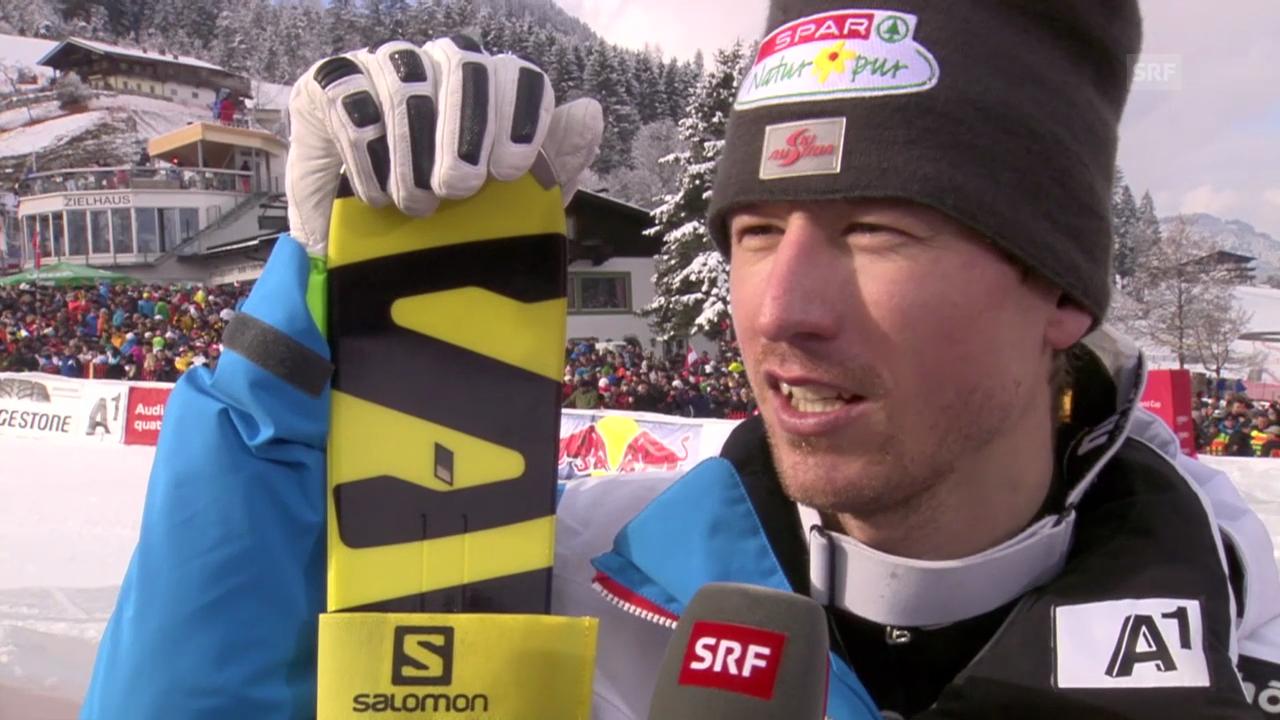 Ski: Abfahrt Kitzbühel 2014, Interview mit Hannes Reichelt