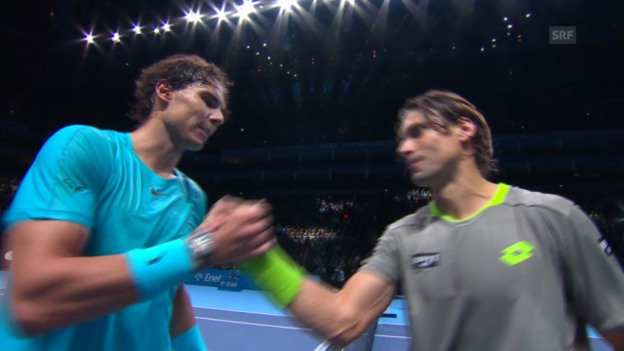 Video «Highlights Nadal-Ferrer» abspielen