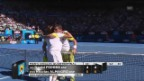 Video «Wichtigste Ballwechsel Ferrer-Almagro (unkommentiert)» abspielen