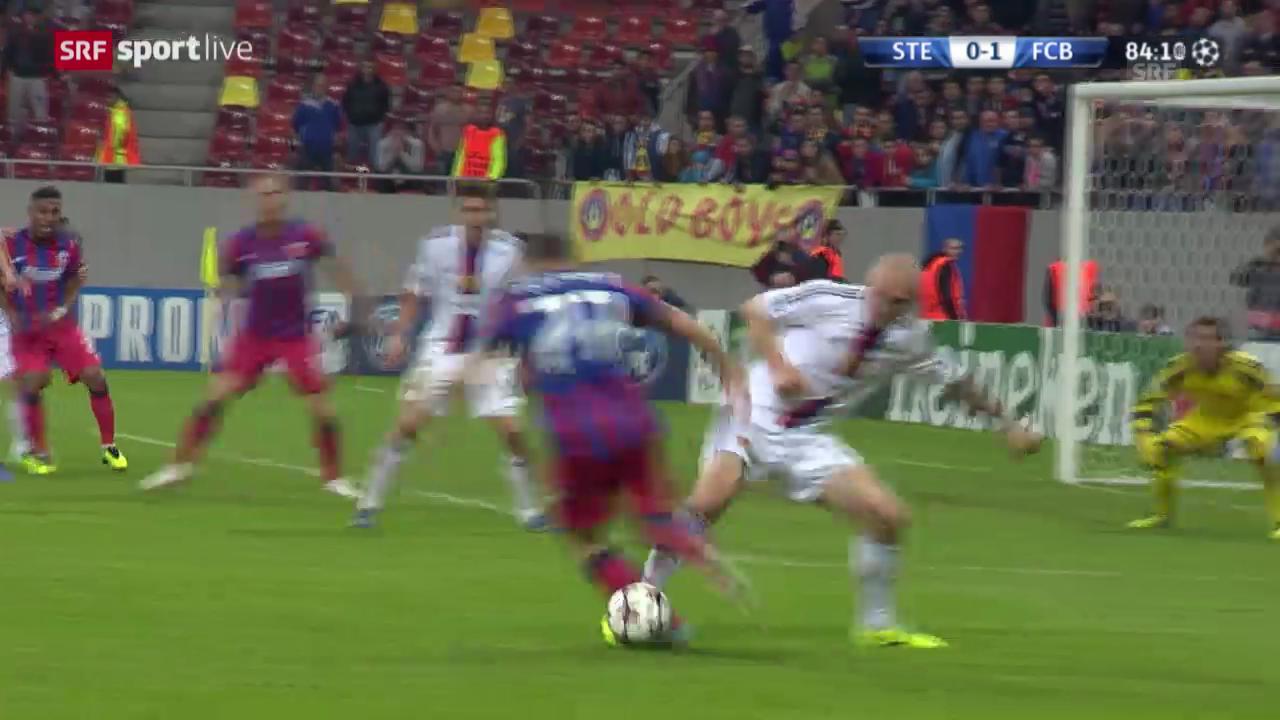 Ivanovs Aktionen gegen Steaua Bukarest
