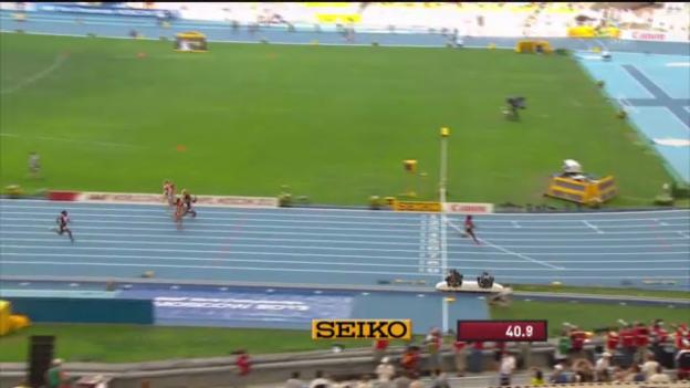 Video «4x100 m der Frauen («sportlive»)» abspielen