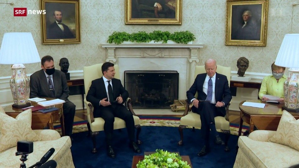 Ukraine hofft auf die Unterstützung der USA