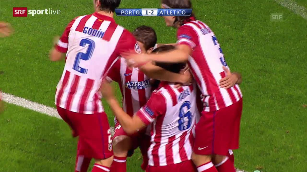 Fussball: Porto - Atletico Madrid («sportlive»)