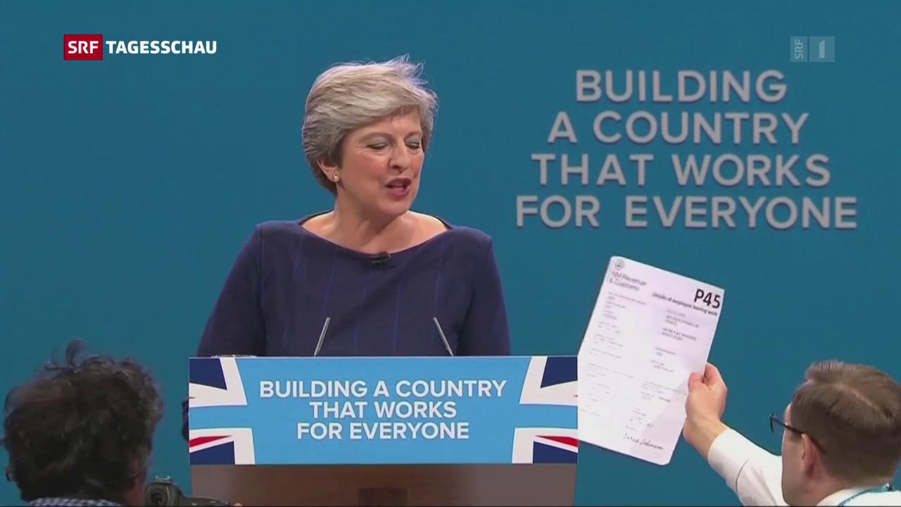 Die britische Premierministerin kämpft um die Gunst ihrer eigenen Parteimitglieder