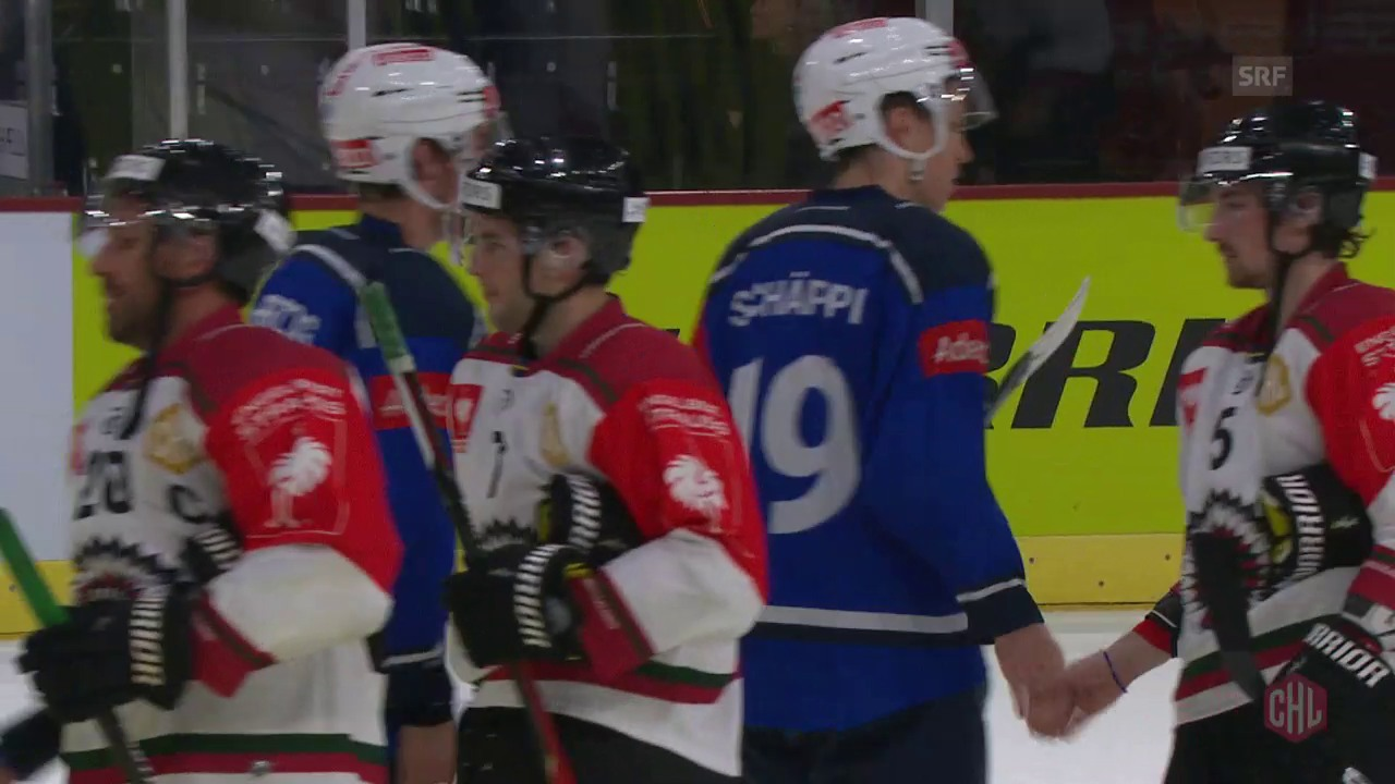 ZSC erneut mit knapper Niederlage gegen Göteborg