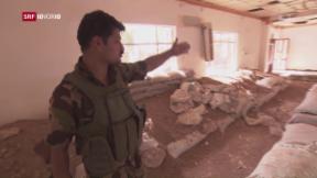 Video «Die Schlacht rund um Mossul tobt weiter» abspielen