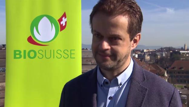 Video «Interview mit Bio-Suisse-Chef Daniel Bärtschi» abspielen