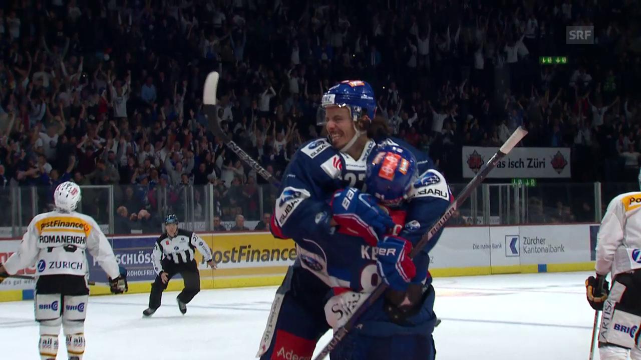 Der ZSC ringt Lugano in der Overtime nieder