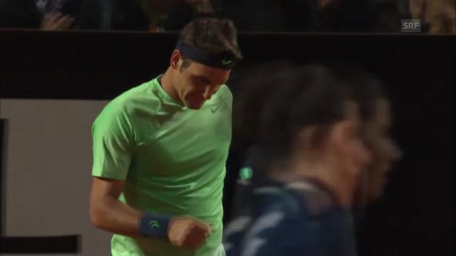 Zusammenfassung Federer - Janowicz («tagesschau»)