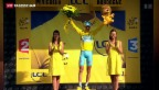 Video «Vorletzte Etappe an der Tour de France» abspielen