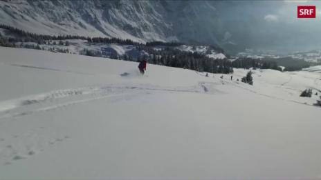 Link öffnet eine Lightbox. Video Bergführer kämpfen um beliebte Skitouren abspielen