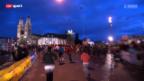 Video «Leichtathletik: Zürcher Silvesterlauf» abspielen