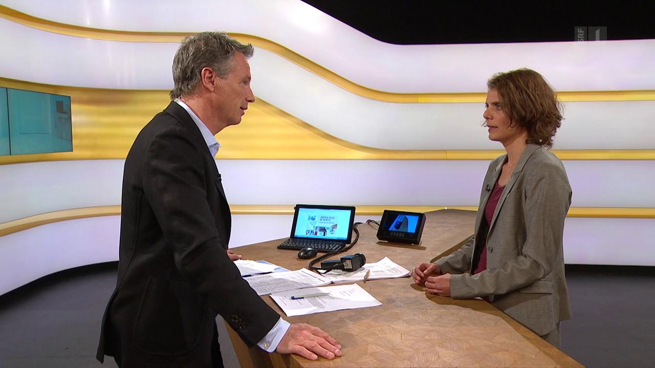 Studiogespräch mit Felicitas Huggenberger vom Mieterverband Zürich